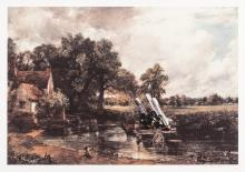Peter Kennard (b.1949) Haywain with cruise missiles