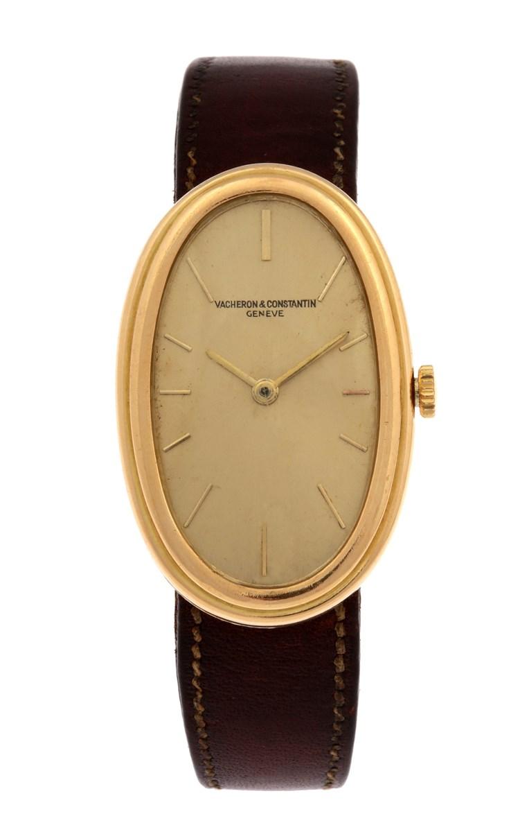 Vacheron Constantin. A vintage yellow gold lady's wristwatch