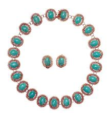 An amazonite necklace, Tiffany  &  Co.