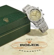 Rolex. A stainless steel chronograph wristwatch, Oyster Chronographe Ant-imagnetique, Ref. 6034
