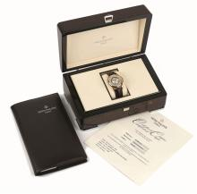 Patek Philippe. A gentleman's wristwatch, Worldtime, Ref. 5130R-018