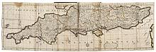 Bowles (Thomas, publisher) The English Gentleman's Guide: or, a New and Compleat Book of Maps of All England and Wales [...], [circa 1745].