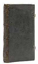 John Reynes binding.- [Greek Liturgy] (graece), Rome, Demetrios Doukas, October, 1526.