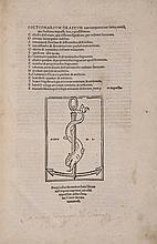 Crastonus (Joannes) Dictionarium græcum...cum interpretatione Latina, 1524.
