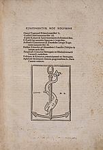 Trapezuntius (Georgius) Continentur Hoc Volumine...Rhetoricorum libri V., 1523.