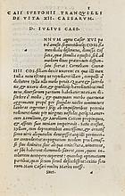 Suetonius Tranquillus (Caius) XII Caesares, 1521.
