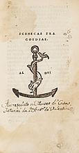 Seneca (Lucius Annaeus) Tragoediae, 1517.