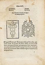 Pindar. [Odes] (graece), Rome, Zacharias Kallierges for Cornelio Benigni, 13 August, 1515.