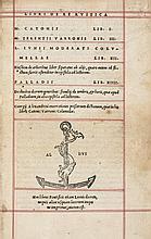 Wine.- Cato (Marcus Porcius), Scriptores rei Rustica, 1514.