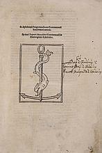 Oratores Graeci. Orationes horum Rhetorum, 1513.