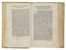 Statius (Publius Papinius), Orthographia et Flexus dictionum graecarum  omnium apud Statium, 1502.