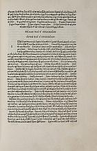 Suidas. Lexicon Graecum [graece], editio princeps, 1499.
