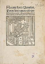 Incunabula.- Horatius Flaccus (Quintus) Opera, Strassburg, Johann Gruninger, 12 March 1498.