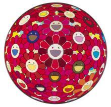 Takashi Murakami  Flowerball 3-D Red Cliff