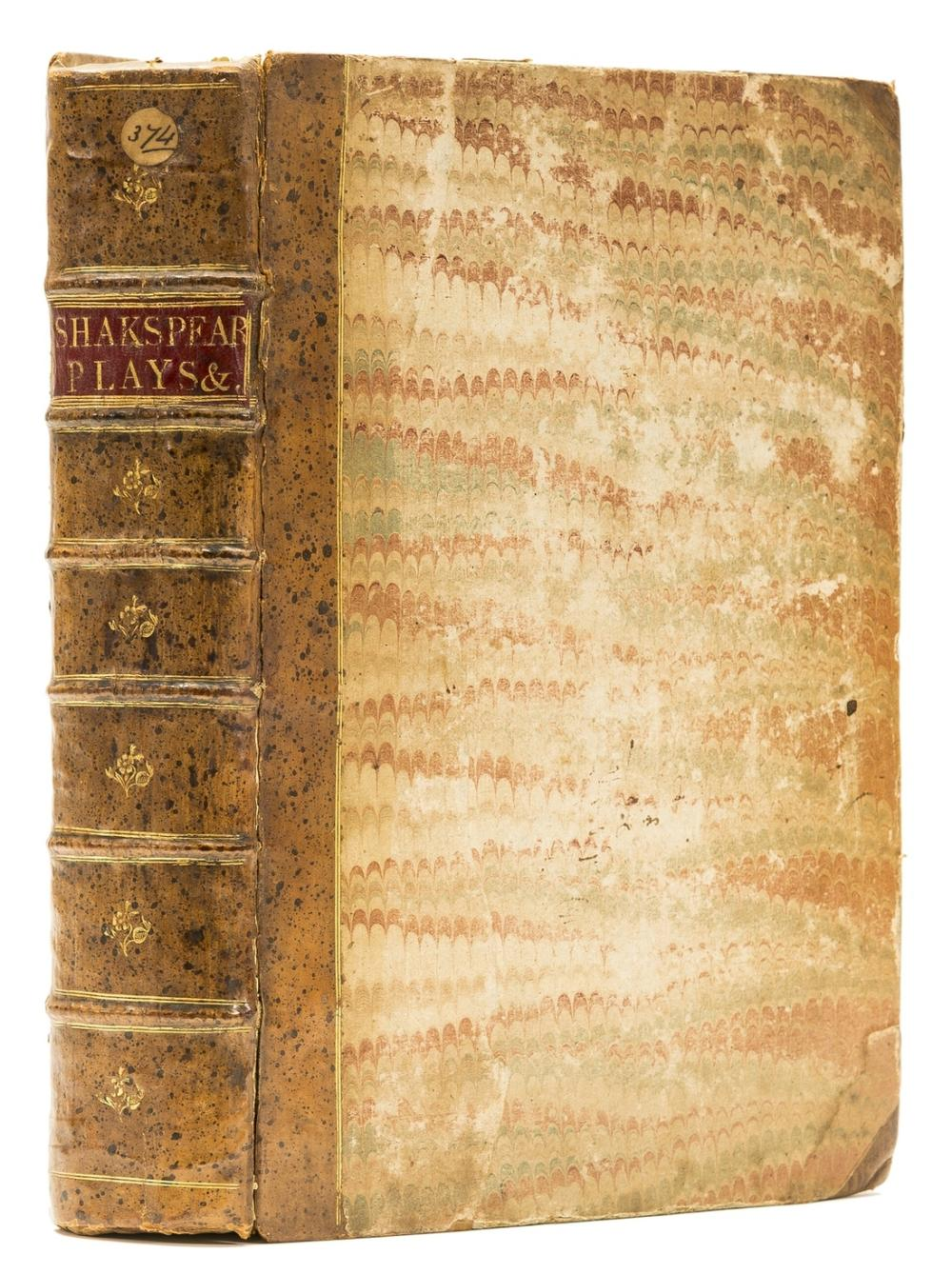Shakespeare (William) [Comedies, Histories, and Tragedies], second folio edition, lacking portrait, title, preliminaries and 12ff. of text, [Thomas Cotes, for Iohn Smethwick...], [1632].