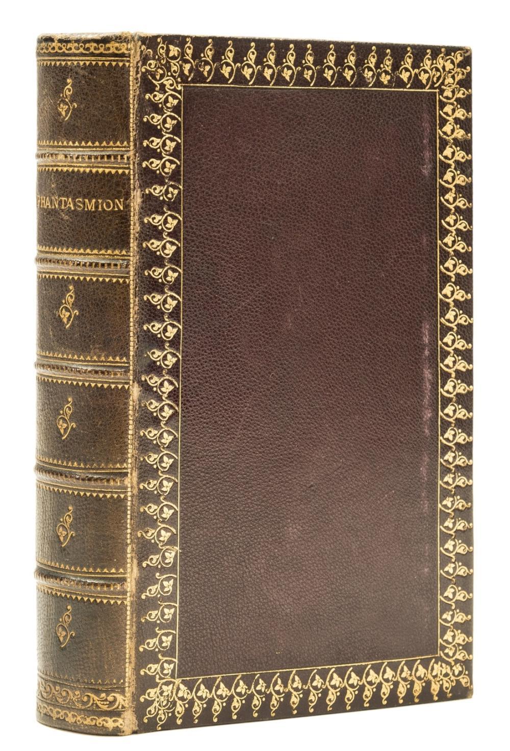 [Coleridge (Sara)] Phantasmion, first edition, contemporary burgundy morocco, gilt, William Pickering, 1837.