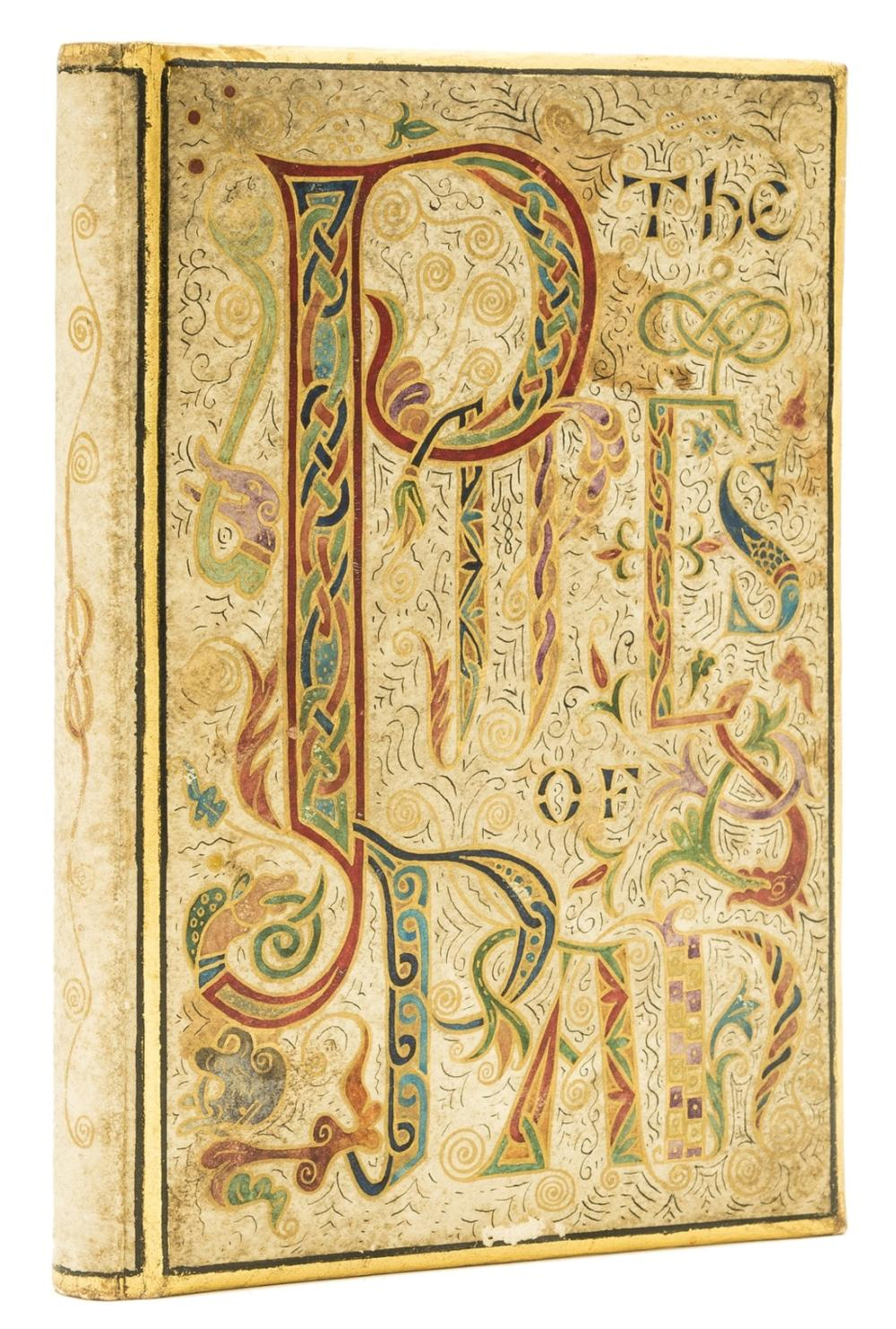 Binding.- Carman (Bliss) The Pipes of Pan..., bound in hand-illuminated vellum in black, colours and gold, 1903.