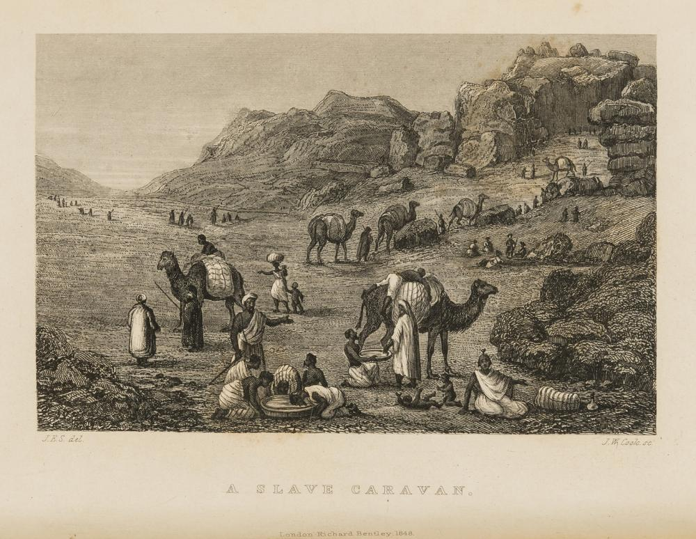 Africa.- Richardson (James) Travels in the Great Desert of Sahara, in the years of 1845 and 1846, 2 vol., first edition, 1848.
