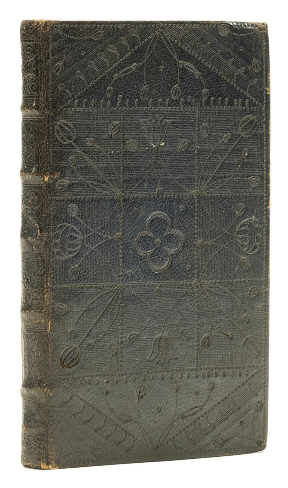 Medical recipes.- Collection of medical recipes, bound in a late 17th century black morocco sombre binding, 1767 & [1680s].