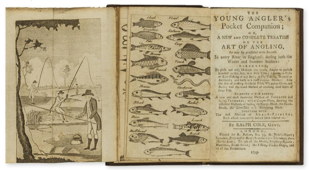 Angling.- Cole (Ralph) The Young Angler's Pocket Companion; or a New and Complete Treatise on the Art of Angling, first edition, for R.Bassam [& others], 1795.