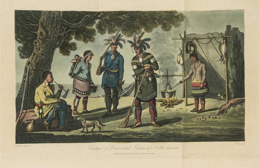 Americas.- Canada.- Heriot (George) Travels through the Canadas, first edition, folding map and 27 hand-coloured aquatints, 1807.