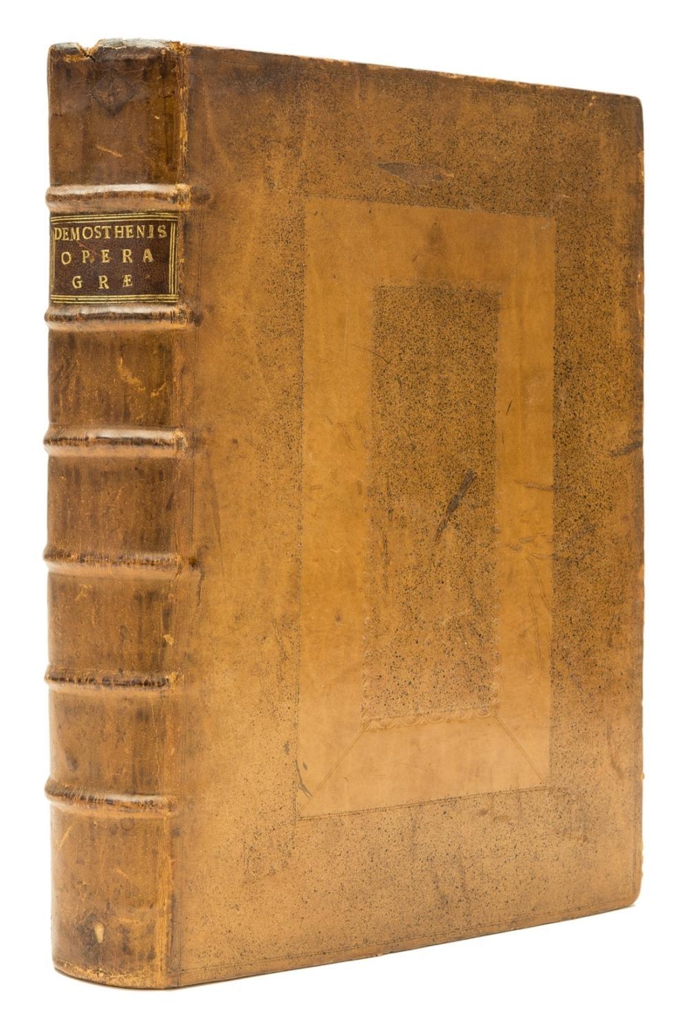 Demosthenes. Orationes duas & sexaginta [graece], Basel, Johannes Herwagen, 1532.