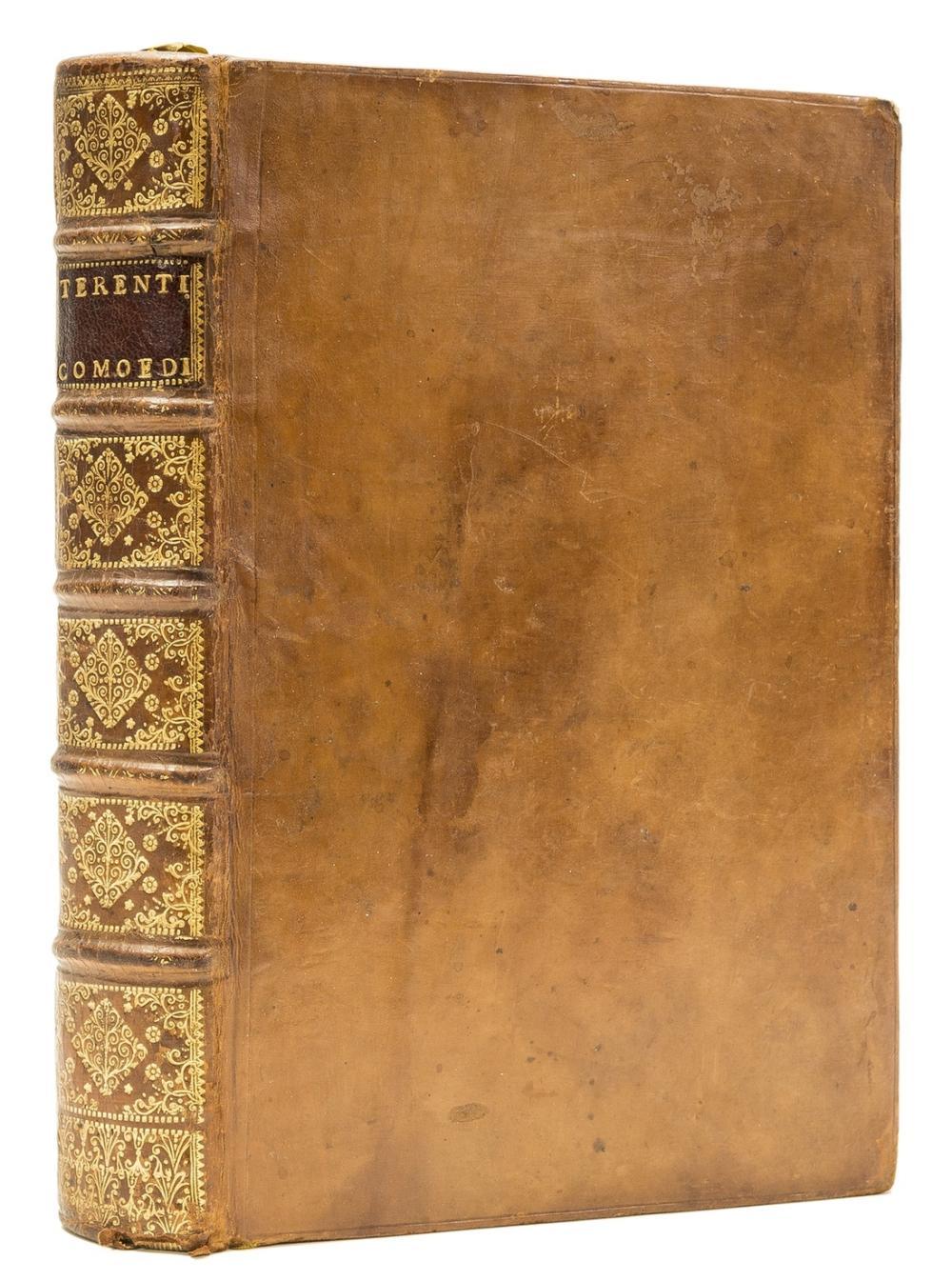 Estienne.- Terentius Afer (Publius) Comoediae sex, Paris, Robert Estienne, 1541 [colophon 1542]