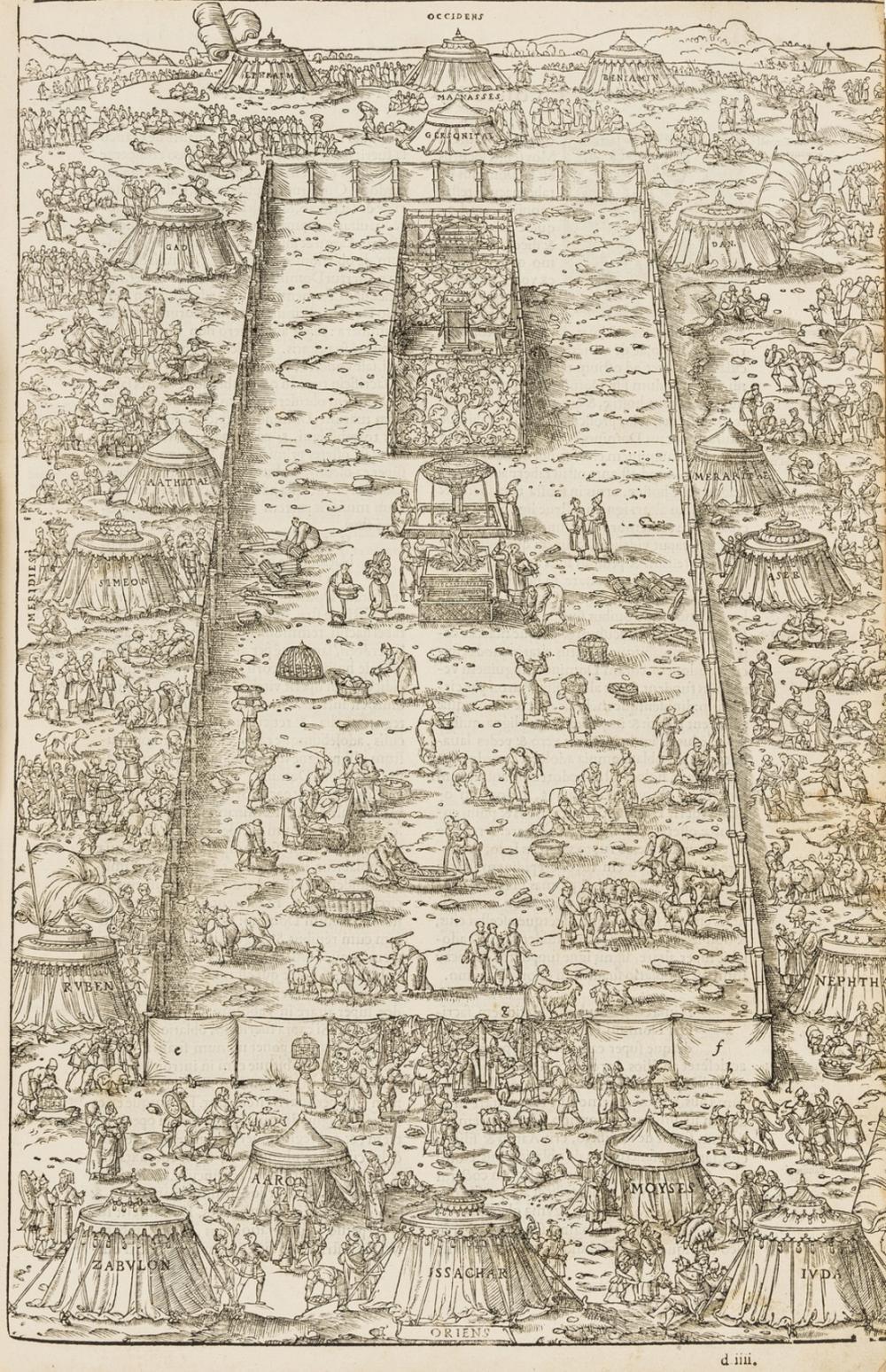 Estienne.- Bible (Latin) Biblia, Paris, Robert Estienne, 1546.
