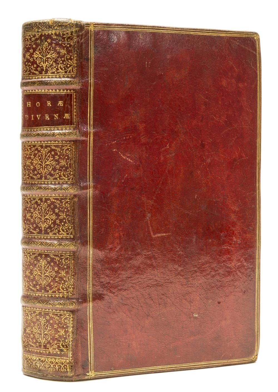 Horae Diurnae Breviarii Romani, Antwerp, ex Typographia Plantiniana, contemporary red morocco, 1700.