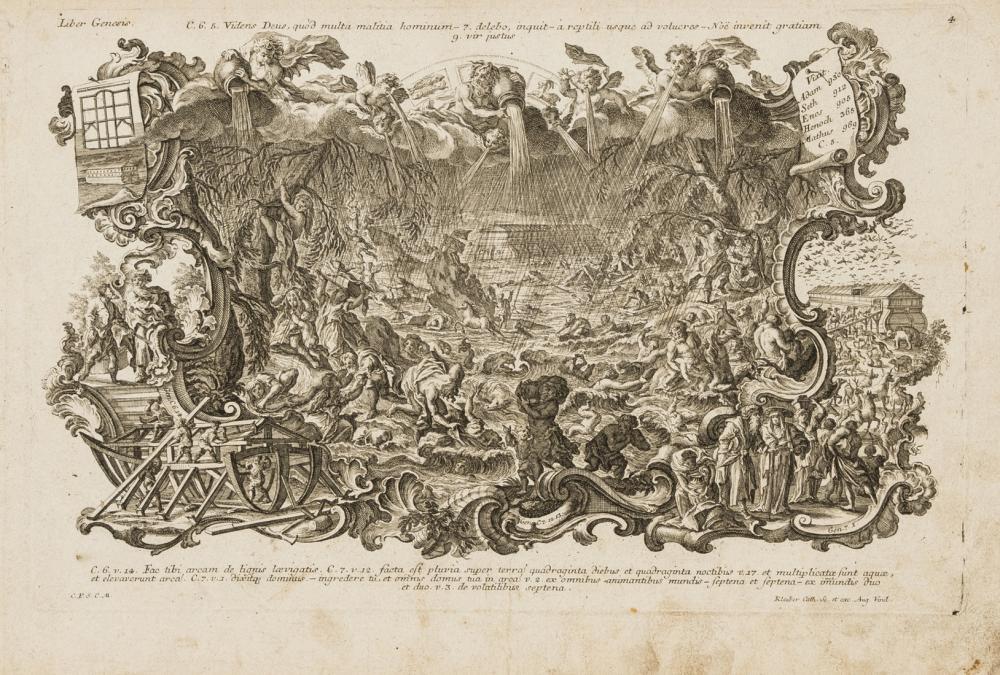 Klauber (J. & J.) Historiae Biblicae Veteris et Novi Testamenti, Augsburg, [c.1750].