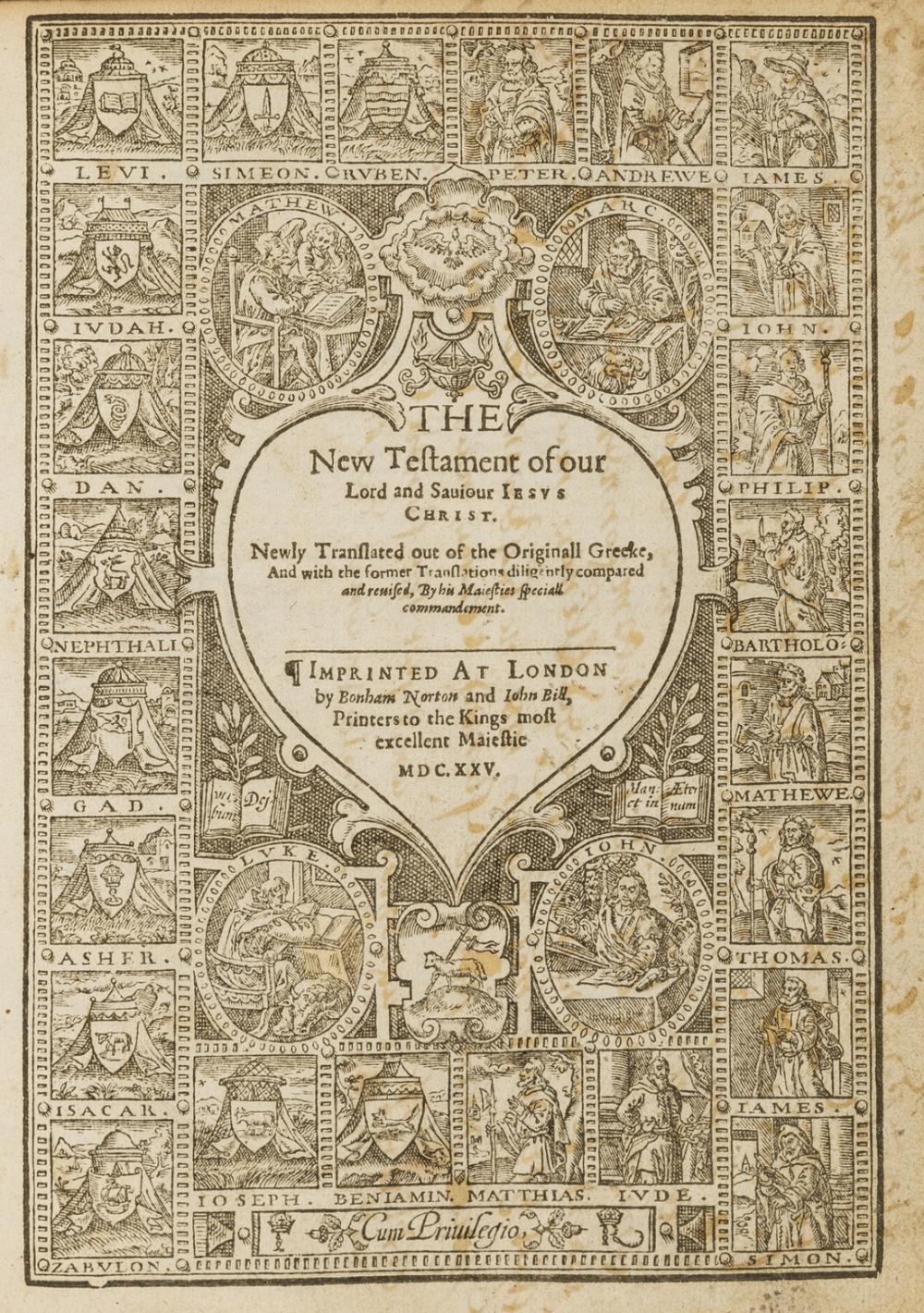 Bible (English) The Holy Bible..., 1625.
