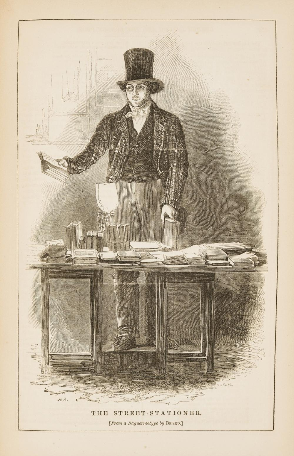 Mayhew (Henry) London Labour and the London Poor, 4 vol., 1861-62.
