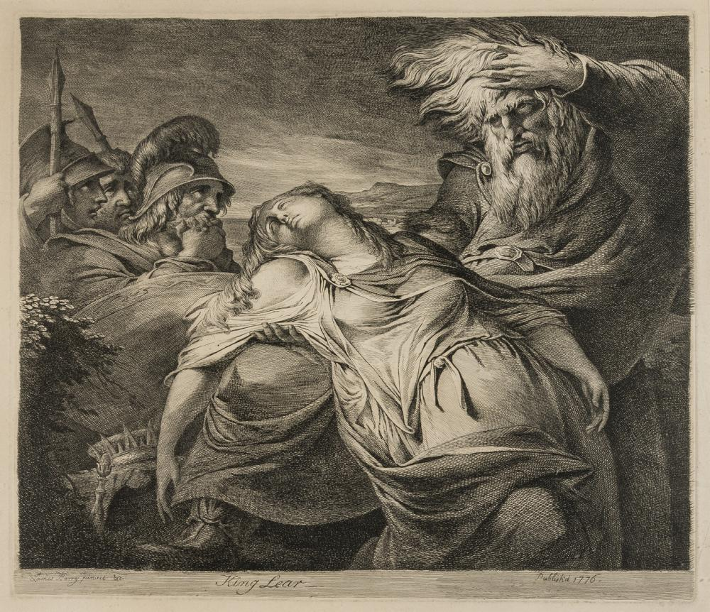 Barry (James, 1741-1806) King Lear, 1776.