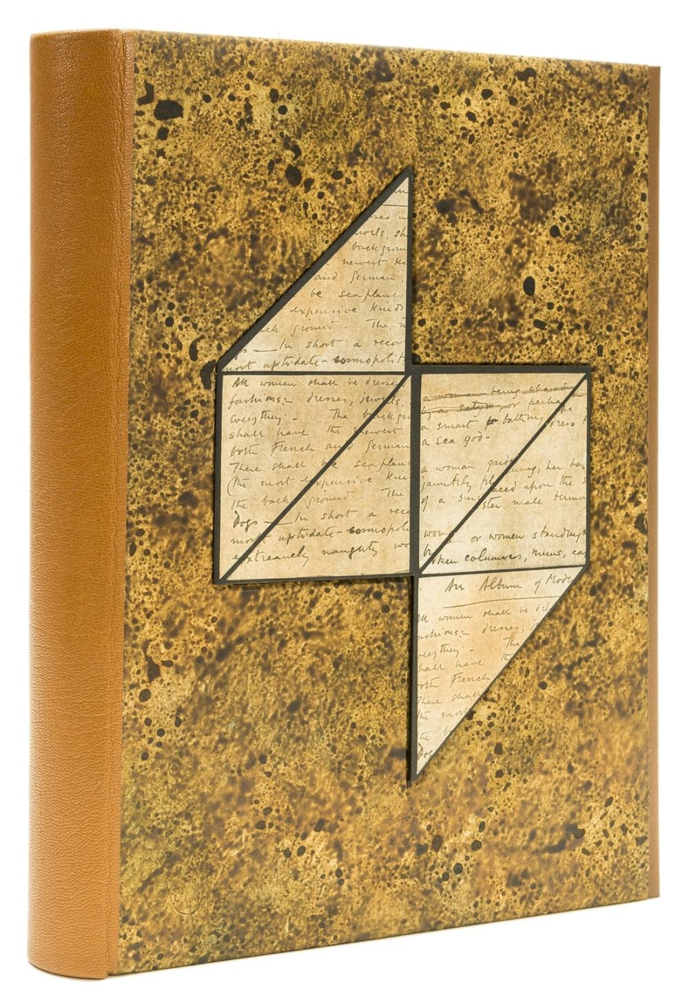Conway (Stephen, binder).- Myers (Colin) The Book Decorations of Thomas Lowinsky, one of 5 specially-bound copies, Oldham, Incline Press, 2001.