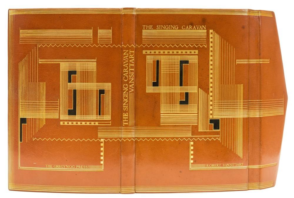 Gregynog Press.- Vansittart (Robert) The Singing Caravan, one of 25 specially-bound copies by George Fisher, Newtown, Gregynog Press, 1932.