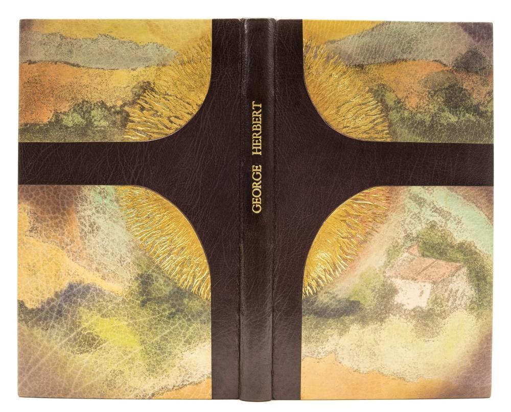 Gwasg Gregynog.- Herbert (George) Sundrie Pieces, one of 15 specially-bound copies, Newtown, Gwasg Gregynog, 2003.