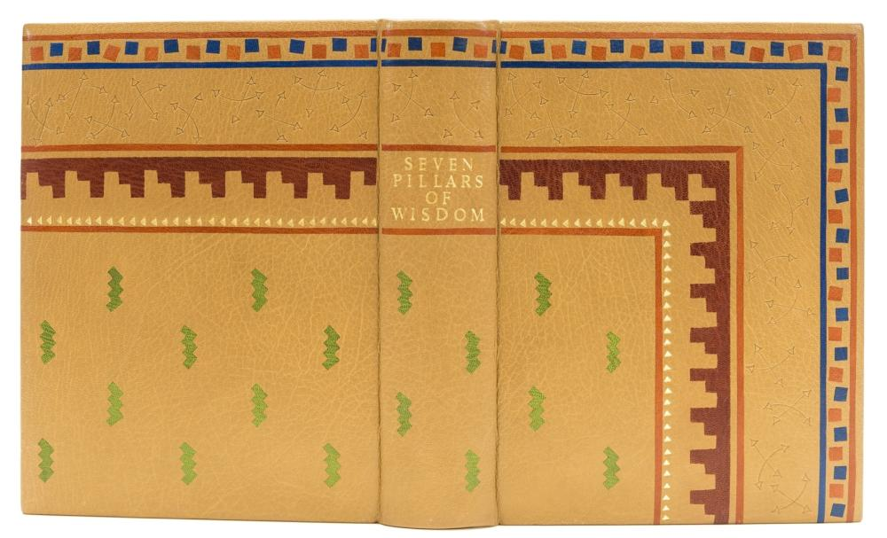 Skelton (Clare, binder).- Lawrence (T.E.) Seven Pillars of Wisdom, first trade edition, 1935.