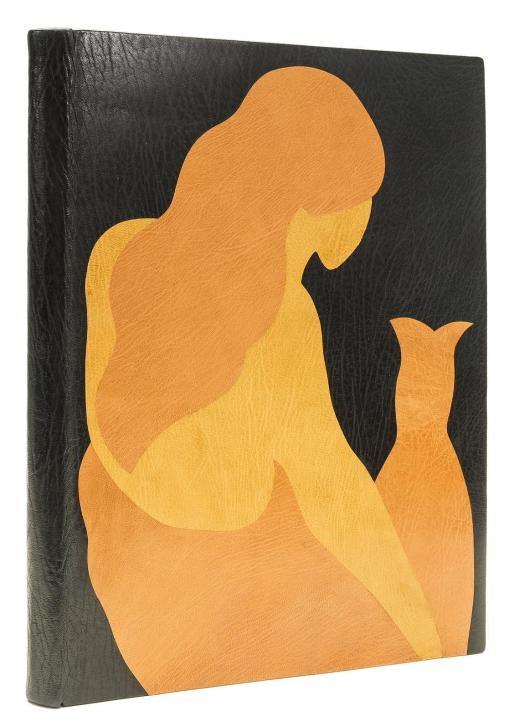 Whittington Press.- Omar Khayyám. The Mirror & the Eye. Rubaiyat, one of 6 specially-bound copies with design in inlaid goatskin, Andoversford, Whittington Press, 1984.