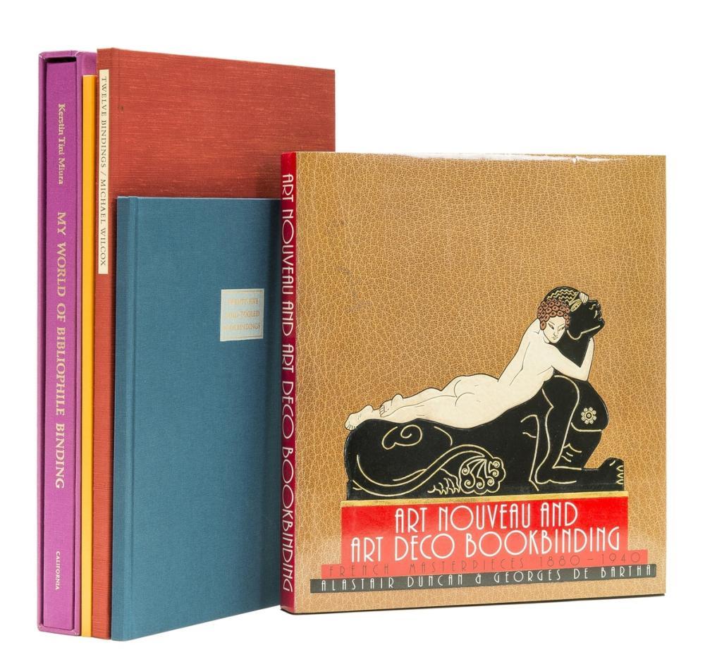 Bookbinding.- Wilcox (Michael) Twelve Bindings, one of 225 copies, Austin, 1985 & others (5)