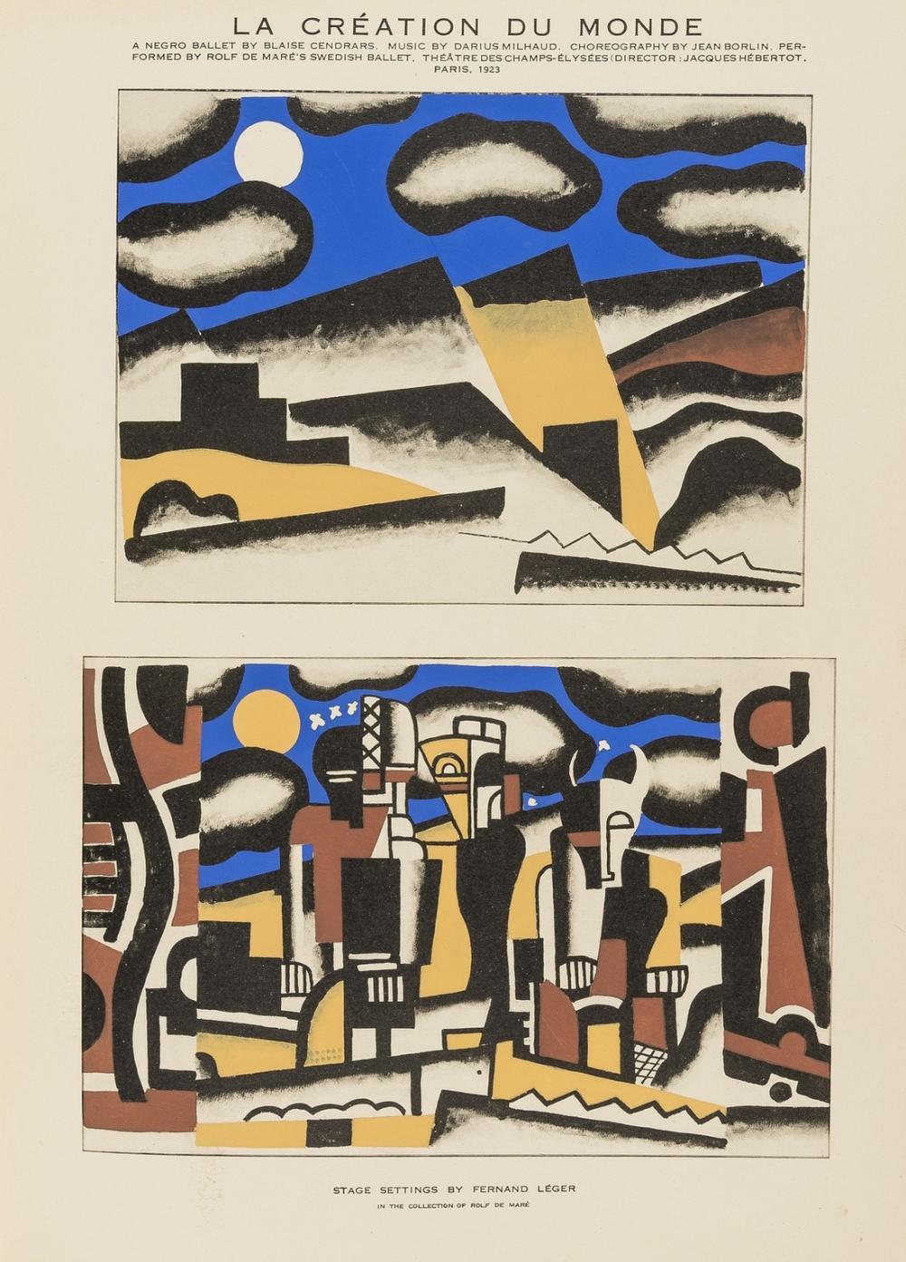 Avant-Garde Theatre.- Moussinac (Léon) The New Movement in the Theatre, 128 plates, 38 pochoir , 1931.