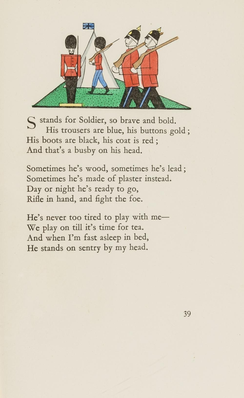 Beaumont (Cyril W.) Toys, one of 100 hand-coloured copies, 1930 & others (3)