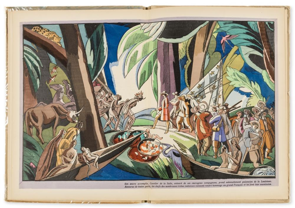 Legrand (Edy) Macao & Cosmage ou l'Experience du Bonheur, pochoir illustrations, Paris, 1919 & another by the same (2)