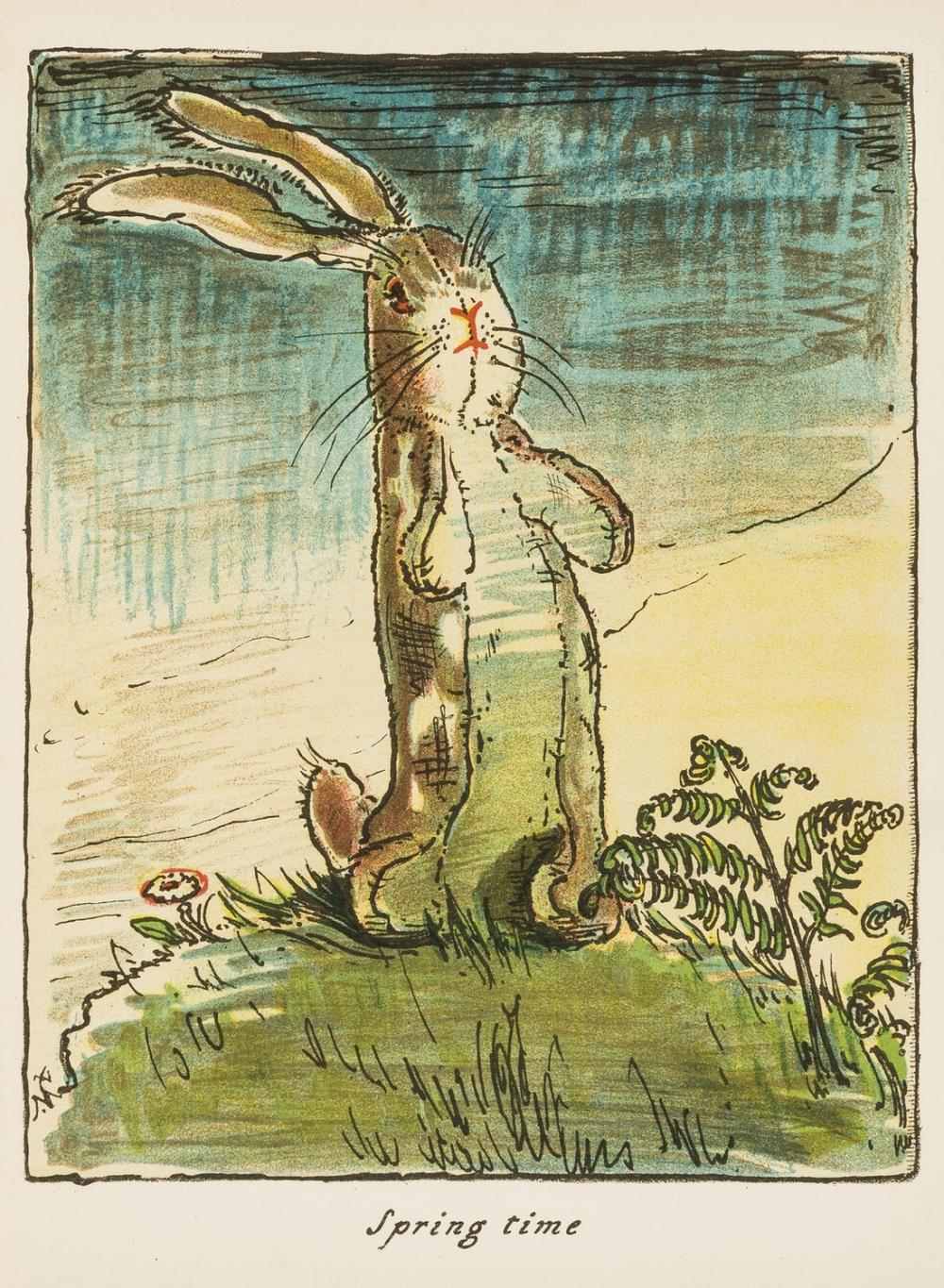 Nicholson (William).- Williams (Margery) The Velveteen Rabbit or How Toys become Real, ?first American edition, New York, George H.Doran, 1922.