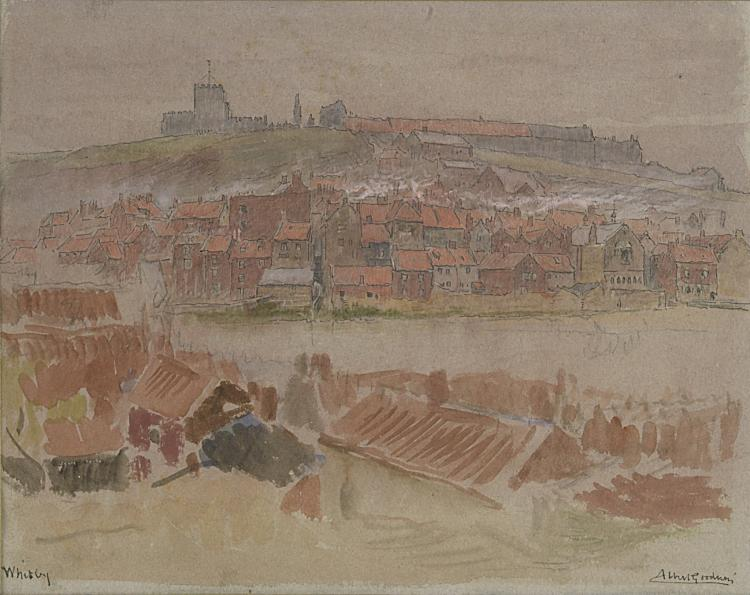 Goodwin (Albert, 1845-1932), View of Whitby.
