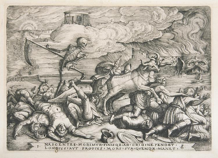 Pencz (Georg) The Triumph of Death, 1539.