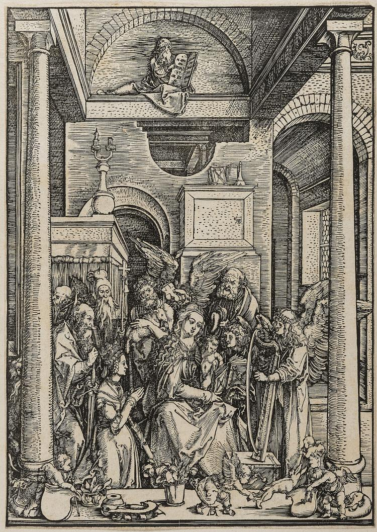 Dürer (Albrecht), The Glorification of the Virgin, from: The Life of the Virgin.