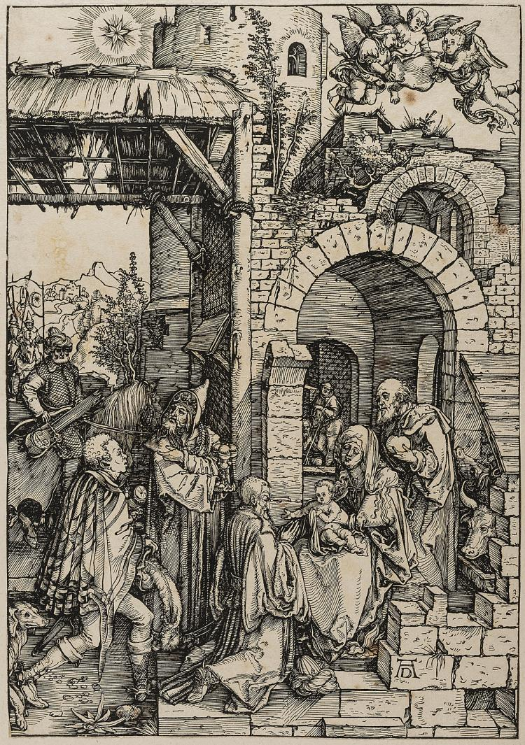 Dürer (Albrecht), The Adoration of the Magi, from: The Life of the Virgin.