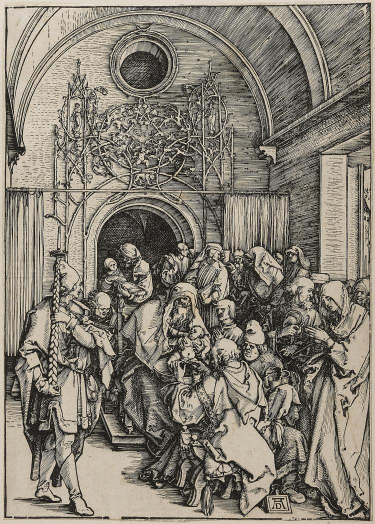 Dürer (Albrecht), The Circumcision of Christ, from: The Life of the Virgin, 1505.
