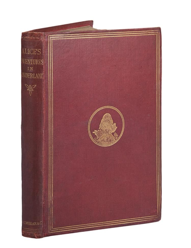 Dodgson (Charles Lutwidge) Alice's Adventures in Wonderland, second (first published) edition, 1866.