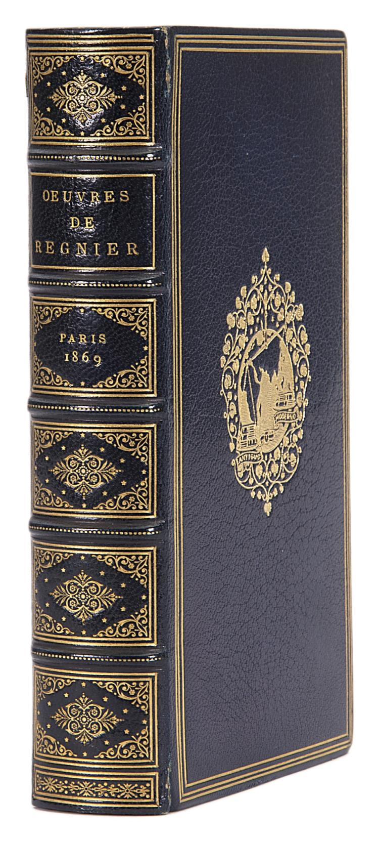 Printed on vellum.- Regnier (Mathurin) Oeuvres, 1869.